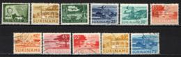 SURINAME - 1965 - AEREO IN VOLO ED IMMAGINI DI SURINAME - USATI - Suriname