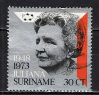 SURINAME - 1973 - 25th Anniversary Of Reign Of Queen Juliana - USATO - Suriname
