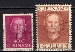 SURINAME - 1951 - EFFIGIE DELLA REGINA GIULIANA - USATI - Suriname