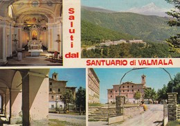 9417-SALUTI DAL SANTUARIO DI VALMALA(CUNEO)-FG - Saluti Da.../ Gruss Aus...