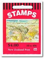 Nieuw Zeeland 1996, Postfris MNH, Sealife ( Booklet, Carnet ) - Boekjes