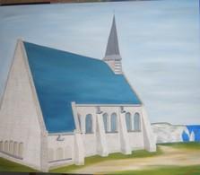 Chapelle Notre Dame D'Etretat - Oils
