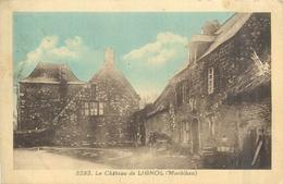 56 LIGNOL  Le Château   2 Scans - Francia