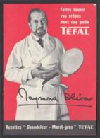 Raymond Oliver - TEFAL - Old Paper