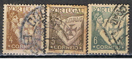 PORTUGAL 137 // YVERT 529, 530, 531 // 1931-38 - Used Stamps