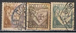 PORTUGAL 137 // YVERT 529, 530, 531 // 1931-38 - 1910-... République