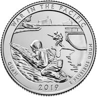 USA, 2019, Guam War In The Pacific National Historical Park Quarter (D) Coin 25 C - Federal Issues