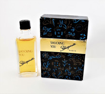 Miniatures De Parfum SHOCKING YOU De SCHIAPARELLI     20 Ml + Boite  ATTENTION SÉRIGRAPHIE IMPARFAITE - Miniaturen Flesjes Dame (met Doos)