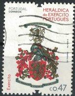 Portugal 2016 Oblitéré Used Heráldica Do Exército Héraldique De L'armée SU - 1910-... Republik
