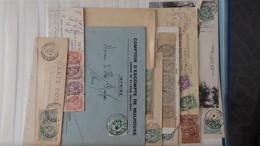 Lot D'enveloppes Anciennes De France Très Sympa !!! - Collections (en Albums)