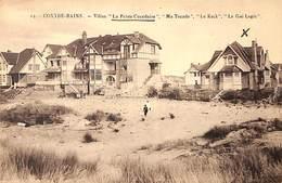 Coxyde Bains - Villas La Petite Coxydoise Ma Tocade Le Keck Le Gai Logis (Henri Georges) - Koksijde