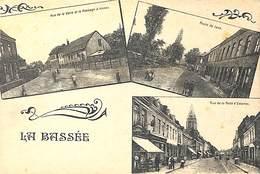 59 - La Bassée - Multi-vues (rue De La Gare, Passage à Niveau, Route De Lens, Rue De La Porte D'Estaires - France