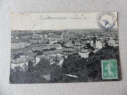 CPA AVEC CACHET ESPERANTO VILLENEUVE-ST-GEORGES VUE GENERALE 2 - Villeneuve Saint Georges