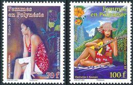 """Polynésie YT 865 & 866 """" Femmes En Polynésie """" 2009 Neuf** - Polynésie Française"""