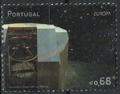 Portugal 2009 Oblitéré Used Very Large Très Grande Télescope Observatoire Du Cerro Paranal Chili SU - Oblitérés