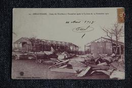 MADAGASCAR - Camp Des Tirailleurs Sénégalais Après Le Cyclone Du 24 Novembre 1922 - Madagascar