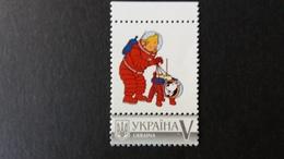 "Tintin: Timbres Personnalisé Ukraine  ""Tintin Et La Lune"" - Ukraine"