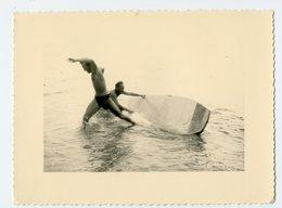 Homme Man Maillot Bain Action Mer Ocean Swimsuit Animé Mouvement Instantané Sexy Gay Planche Surf - Personnes Anonymes