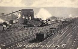 Erie Railroad Yards, Port Jervis, N Y (steam Train Animation Vintage) - Non Classés