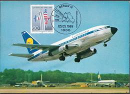 Germany / Berlin Maximum Card Airbridge To Berlin - History