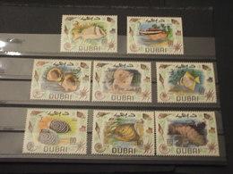DUBAI - 1969 PESCI/CONCHIGLIE 8  VALORI - NUOVI(++) - Dubai