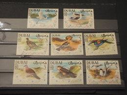 DUBAI - 1969 UCCELLI 8 VALORI - NUOVI(++) - Dubai