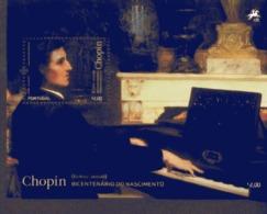 Por. Block 292 F. Chopin ** MNH Postfrisch - Blocs-feuillets
