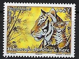 "Polynésie YT 899 "" Année Du Tigre "" 2010 Neuf** - Polynésie Française"