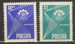POLAND MNH ** 902-903 FOIRE INTERNATIONALE DE POZNAN - 1944-.... République