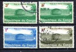 Congo, , 1968   Palais De La Nation - Congo - Brazzaville