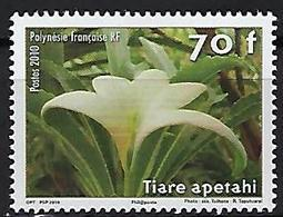 "Polynésie YT 904 "" Fleur "" 2010 Neuf** - Polynésie Française"