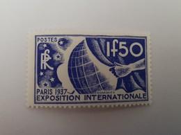Timbre Neuf Exposition Internationale De Paris, 1937 - N° 327 (Yvert) Sans Charnière - Nuovi