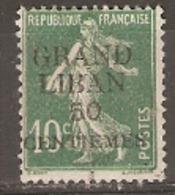 Lebanon 1912  SG 3 Grand Liban Overprint  Fine Used - Libanon