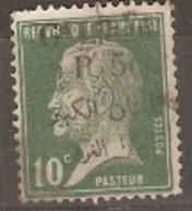 Lebanon 1924  SG 43 50 On 10c Green Fine Used - Libanon