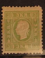Österreich Austria 1861, Mi. 12 ND VI, Nachdruck, Value 40,- - 1850-1918 Imperium