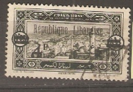 Lebanon 1927  SG 114 4 On 0.25 Fine Used - Libanon