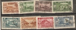 Lebanon 1930  Various Values  Fine Used - Libanon
