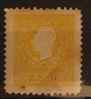 Österreich Austria 1861, Mi. 10 ND VI, Nachdruck, Value 10,- - Unused Stamps