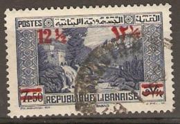 Lebanon 1938  SG 247  Surcharges  Fine Used - Libanon