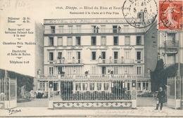 PIONNIERS AVIATION - TEXTE Et SIGNATURE De BERGERON - AVIATEUR Sur CP De Dieppe Seine Inférieure - Autographes