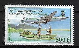 """Polynésie YT 929 """" Aéroport International """" 2010 Neuf** - Polynésie Française"""