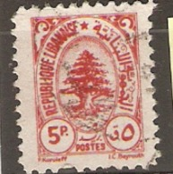 Leanon 1946 SG  328  Cedar Of Lebanon Fine Used - Libanon