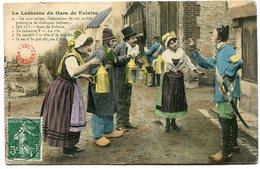 CPA - Carte Postale - Folklore - La Lanterne Du Gars De Falaise - 1909 (B8952) - Falaise