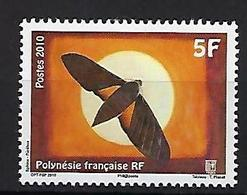 """Polynésie YT 930 """" Papillon """" 2010 Neuf** - Polynésie Française"""