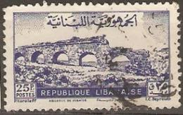 Leanon 1948  SG  371  Fine Used - Libanon