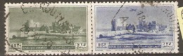 Leanon 1950  SG  423,5  Crusader Castle  Fine Used - Libanon