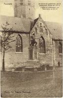 ASSENEDE - De Kerk En Het Gedenkmaal Aan De Gesneuvelde Helden Van 1914-18 - Uitg. Ad. Masure Photogr - Assenede