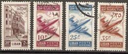 Lebanon  1953 Various Values  Fine Used - Libanon