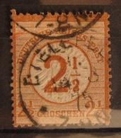 Deutsches Reich 1872, Mi. 29 Nachverwendung 1875, Value 80,- - Oblitérés