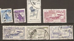 Lebanon  1959  Various Values  Fine Used - Libanon